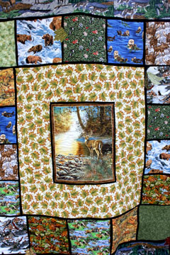 outdoors quilt